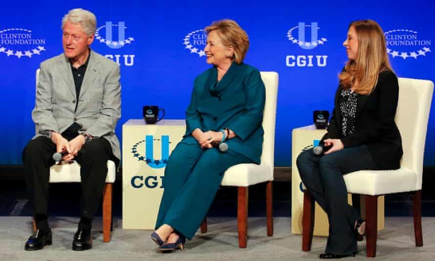 Bill Hillary and Chelsea Clinton