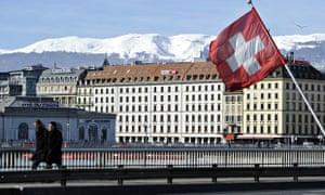HSBC's offices in Geneva.