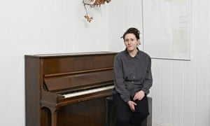 Mica Levi, musician. at home in Brixton.