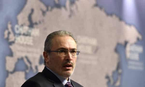 Khodorkovsky: limited influence from Zurich.