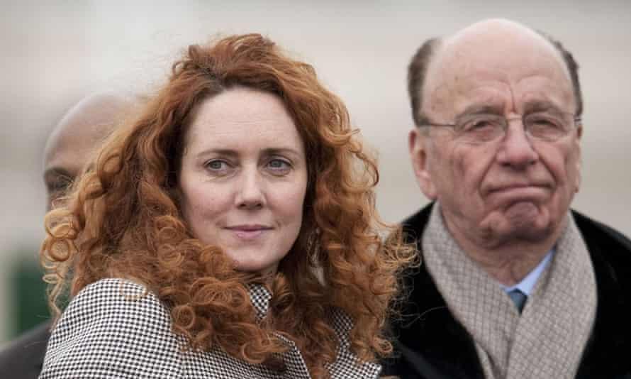 Rebekah Brooks and Rupert Murdoch in 2010.
