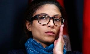 Ensaf Haidar, wife of  Raif Badawi.