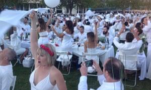 Diner en Blanc in Melbourne