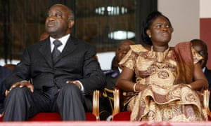 Laurent and Simone Gbagbo in 2009.