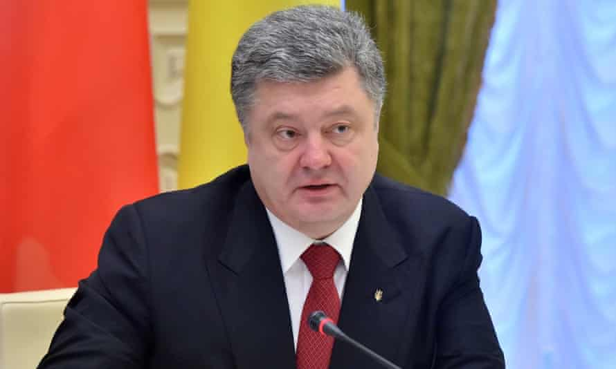 Petro Poroshenko: 'There is a ceasefire, or there isn't. It depends on how you look at it.'
