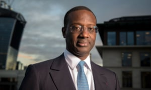 Tidjane Thiam, who is moving from the Prudential to Credit Suisse
