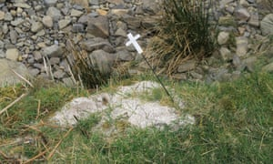 Cremated Christian Human Ashes Scattered at a Beauty Spot, UK