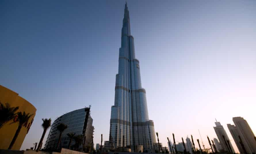 Workers staged the protest outside the Dubai Mall, one of the world's largest shopping centres and also developed by Emaar.
