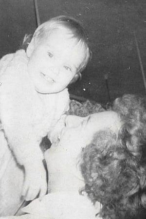 Gillian Lasocki and her mother