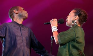Youssou N'Dour and Neneh Cherry