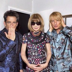 Backstage with #DerekZoolander, Hansel and Anna Wintour #Zoolander2 #linkinbio