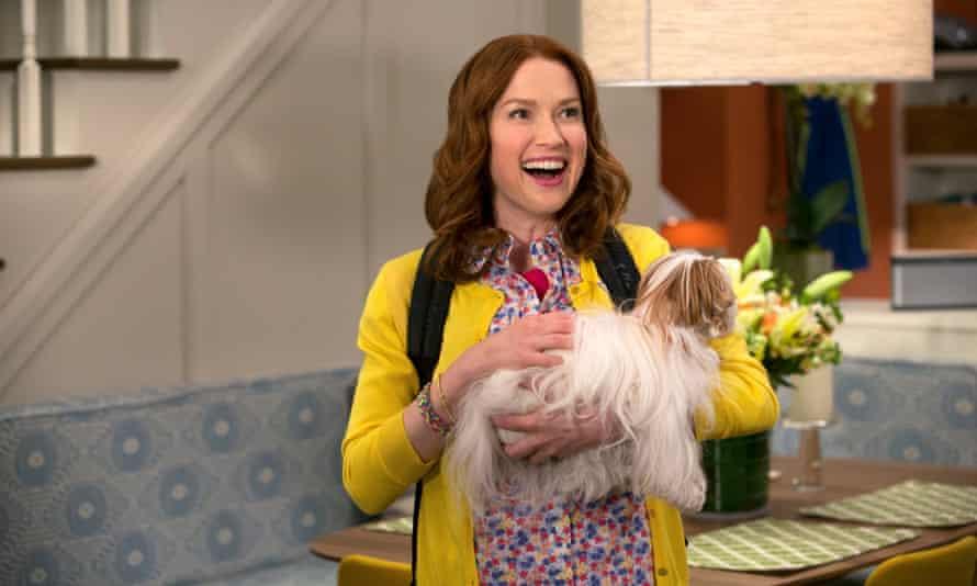 Ellie Kemper stars in Unbreakable Kimmy Schmidt.