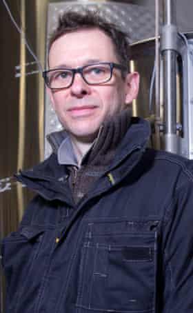 Winemaker Simon Woodhead.