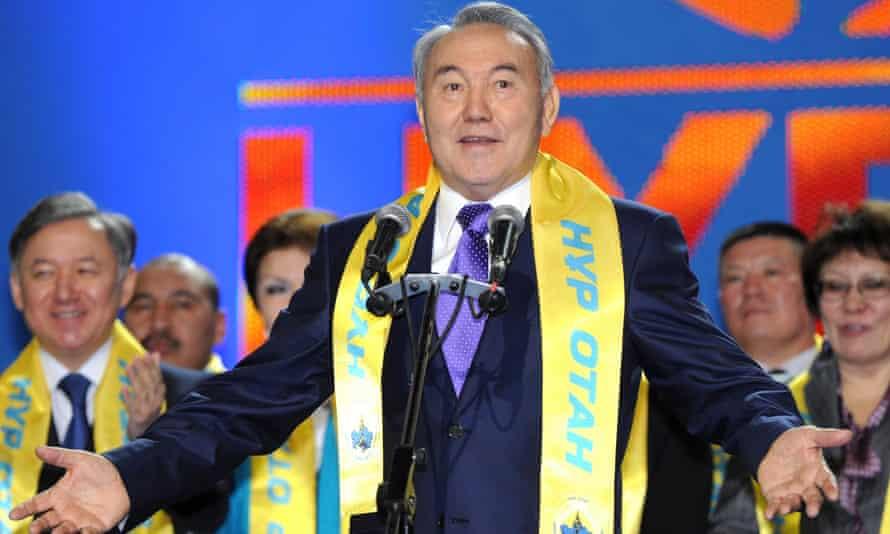 Kazakhstan's President Nursultan Nazarbayev in 2012.