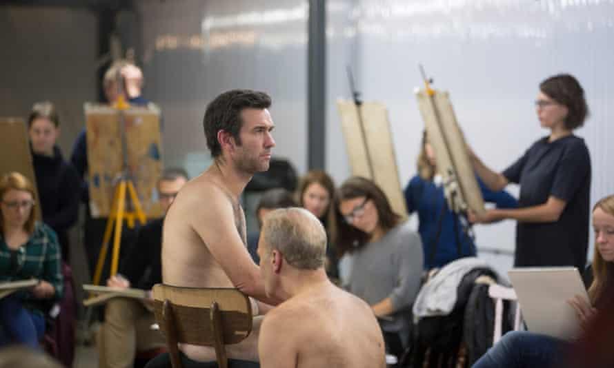 Nick McGrath as life model