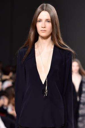 Chloé at Paris fashion week, AW15