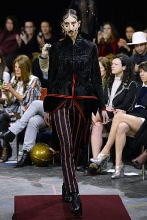 Givenchy, AW15, Paris fashion week.