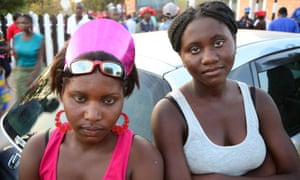 Two girls in Mongu, Zambia, April 2013. Photograph: Thomas Aquilina
