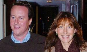 Samantha Cameron married David shortly after starting work at Smythsons.