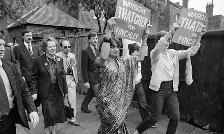 Thatcher In Finchley