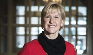 Margot Wallström, Sweden's foreign minister, said her speech to the Arab League had been blocked by the Saudis.