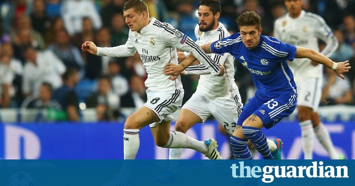 Real madrid v schalke champions league as it happened for Championship league table 99 00
