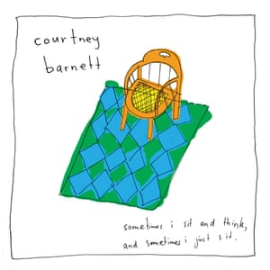 The cover of Courtney Barnett's debut album Sometimes I Sit and Think and Sometimes I Just Sit.