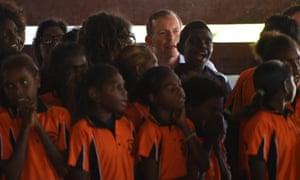 Tony Abbott in Arnhem Land