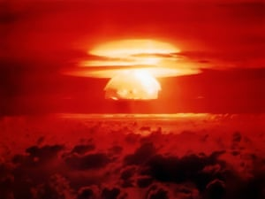 Operation Castle was an experimental thermonuclear device, 15-megaton weapons related surface event detonated on Bikini Atoll.