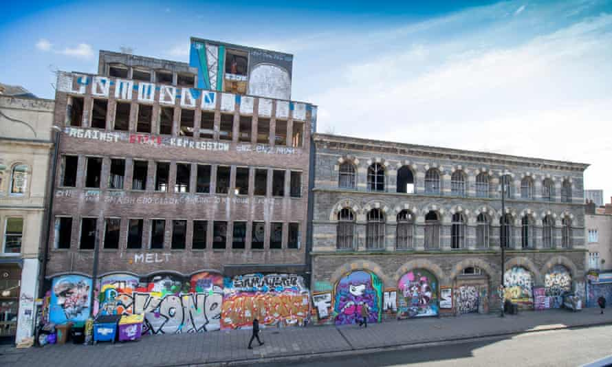 The Carriageworks at the centre of the redevelopment plans for Stokes Croft.