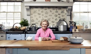 Mary Berry at home in Buckinghamshire.