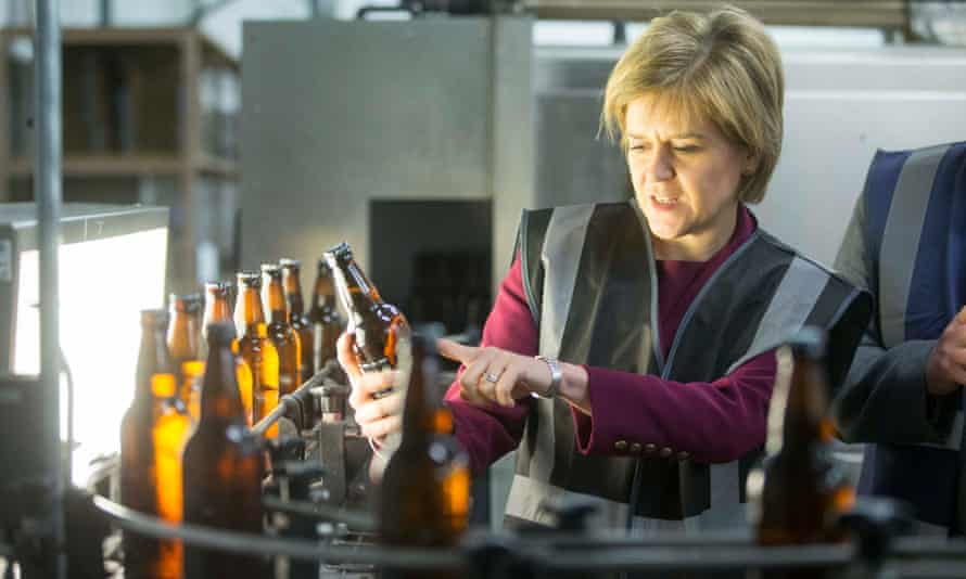 Nicola Sturgeon, the first minister, insisted that fluctuating tax receipts were 'not uncommon'.