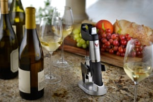 Coravin, which uses surgical technology that pours your wine without pulling the cork.