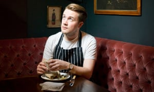 Tomos Parry head chef at Kitty Fisher's, Mayfair, London.