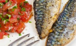 Roasted mackerel and tomato salad @bartfishtalesInstagram