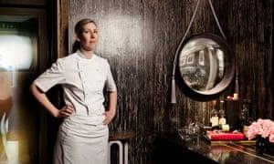 Clare Smyth at Restaurant Gordon Ramsay.
