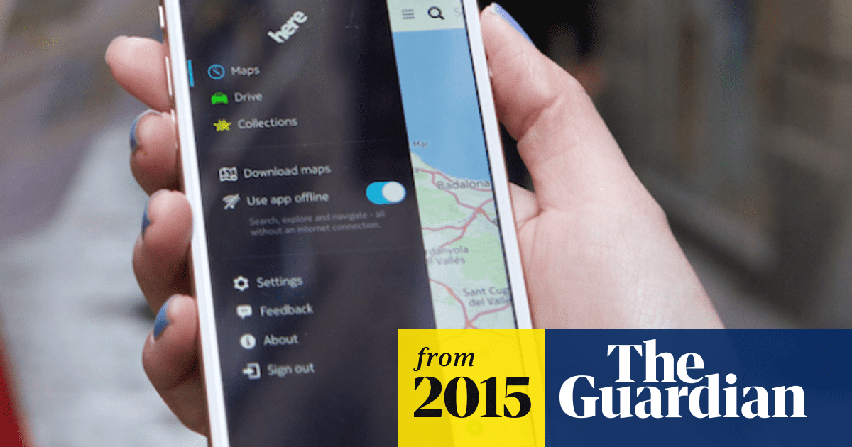 Nokia relaunches its HERE maps and navigation app for iOS