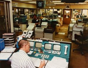 Final frontier: Voyager control centre at the California Institute of Technology (Caltech), Pasadena California, 1980.