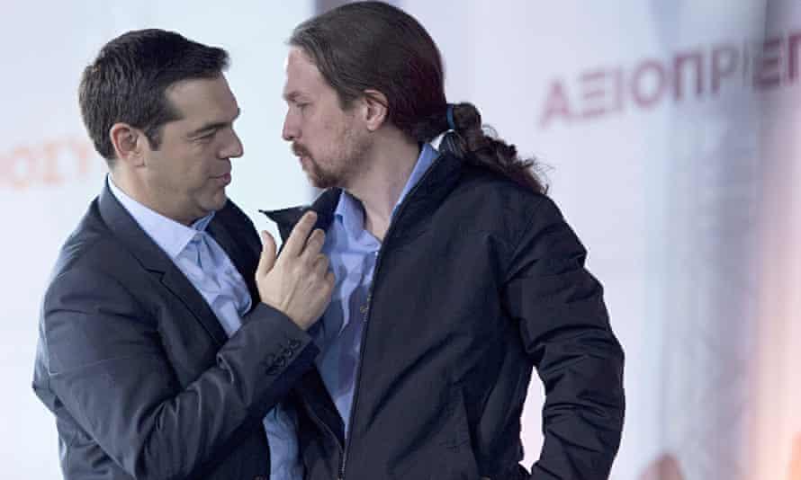 Syriza party rally, Athens, 22 January 2015