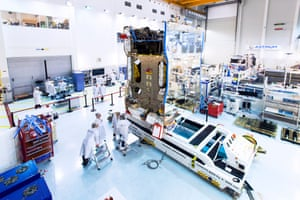 Astrium's test facility in Toulouse.