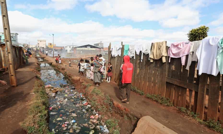 Antananarivo, the capital city of Madagascar.