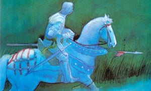 Illustration by Michael Foreman from his book Arthur, High King of Britain.