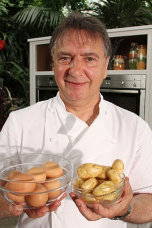 Raymond Blanc, co-host of new BBC2 series Kew on a Plate.