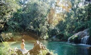 The waterfalls at El Nicho