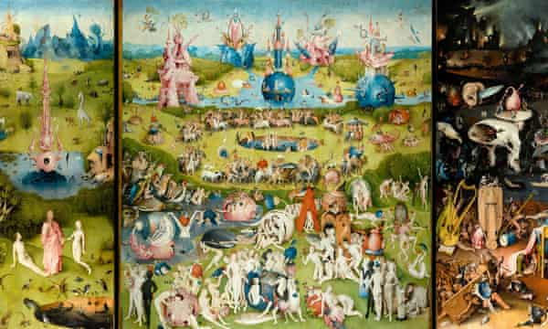 Hieronymus Bosch triptych