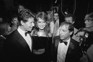 Calvin Klein Party, 1978 Calvin Klein, Brooke Shields, Steve Rubell Hasse Persson Studio 54