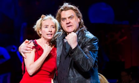 Emma Thompson and Bryn Terfel in the Broadway production of Sweeney Todd.