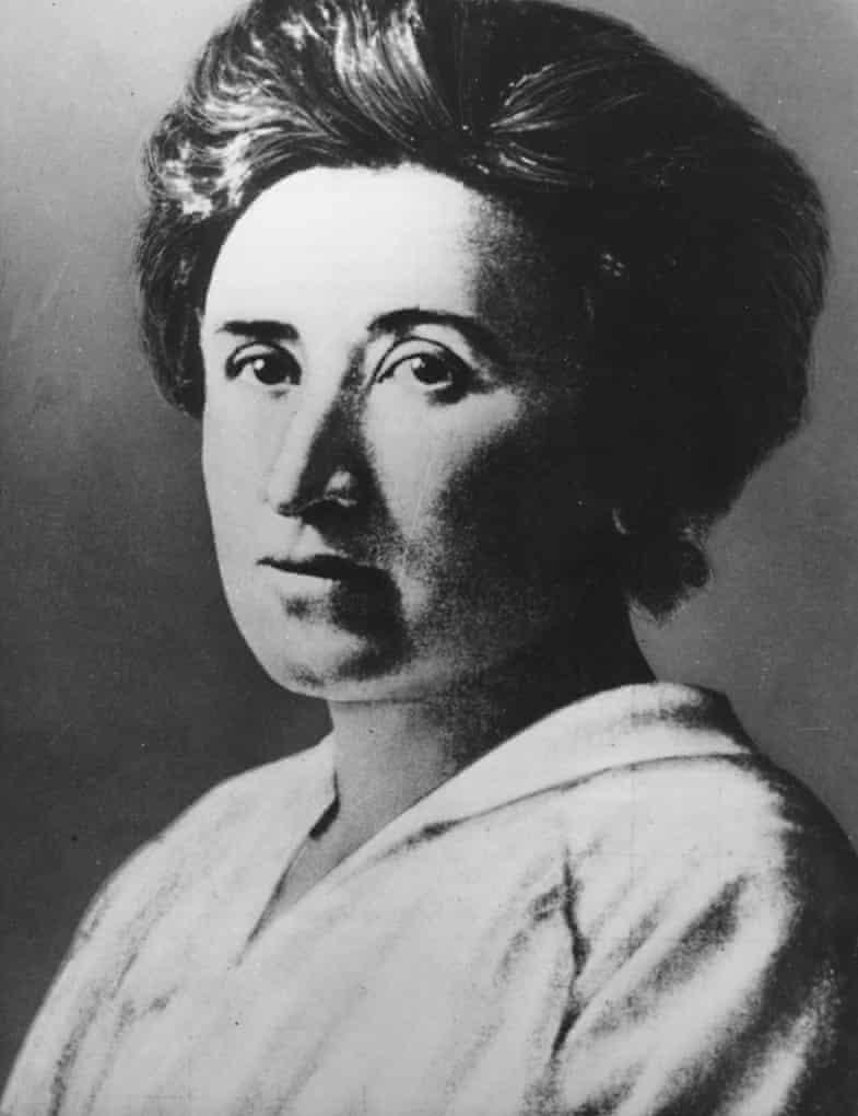 German, communist, politician,  Rosa Luxemburg, feminist