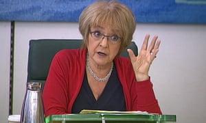 Public Accounts Committee chair Margaret Hodge