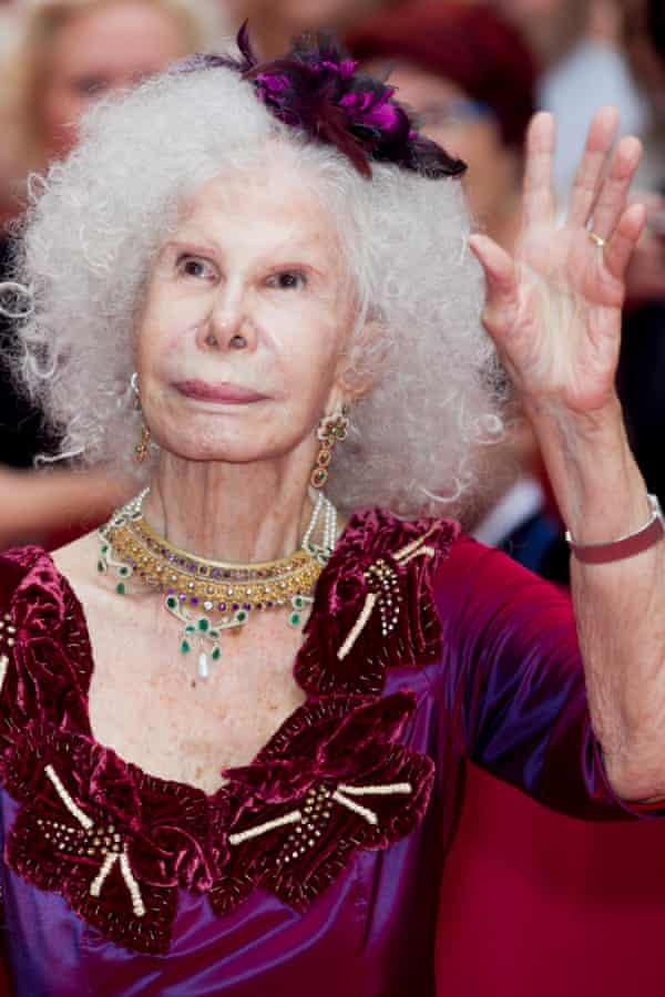 The flamboyant Duchess of Alba, who died last November.